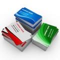 Визитки, печать односторонних и двухсторонних визиток